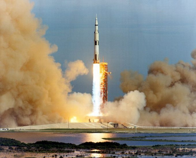 Launch of Apollo 15