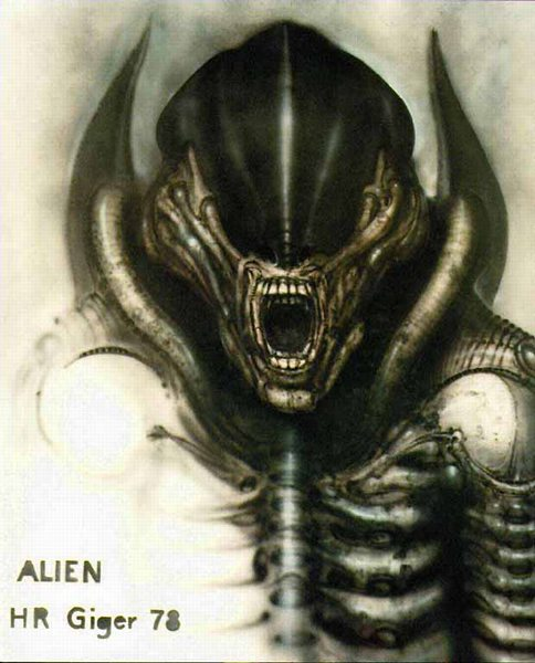 Alien by H.R. Giger
