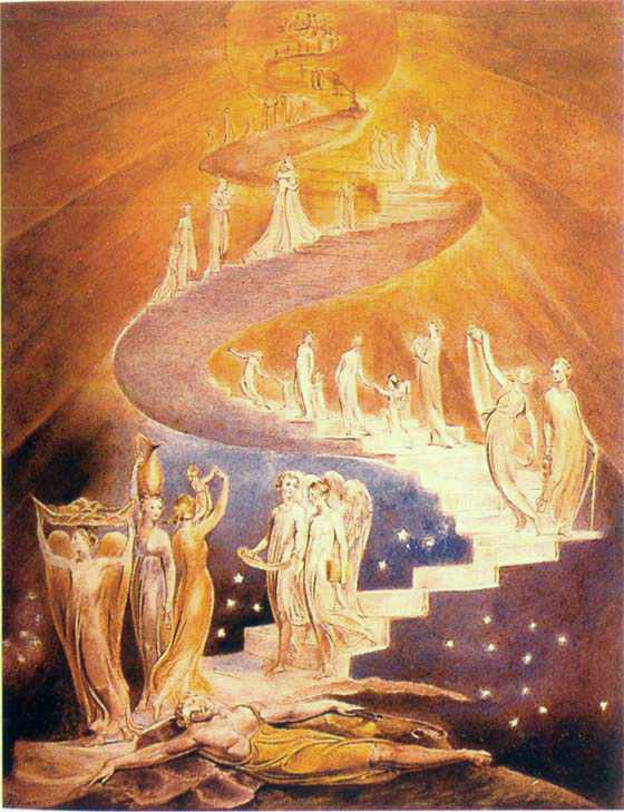 Jacob's Ladder, by William Blake