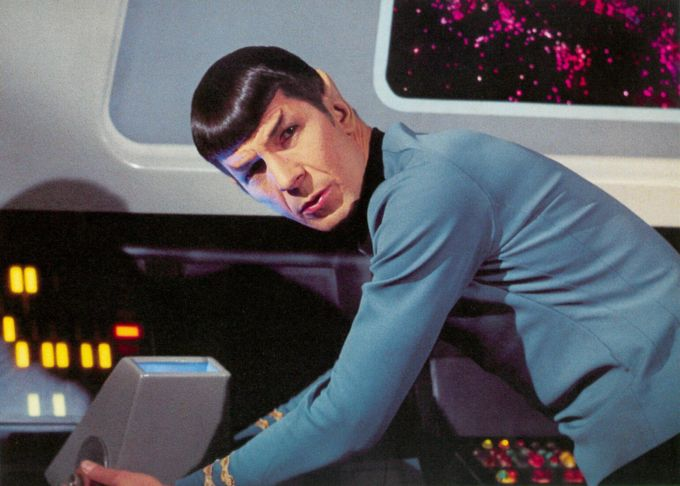 Mr Spock from Star Trek